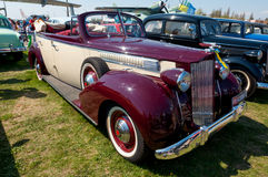 1939 Packard één-Twintig uitstekende auto Stock Foto's