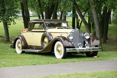 packard Royaltyfria Bilder