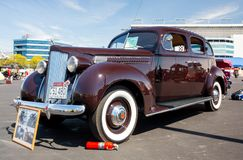 1939 Packard Automobile royalty free stock photo