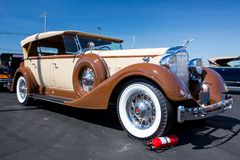 1934 Packard Automobile stock photography