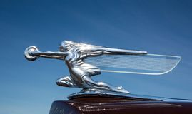 1939 Packard Automobile Hood Ornament royalty free stock photos