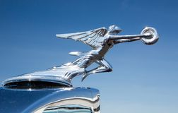 1934 Packard Automobile Hood Ornament royalty free stock photo