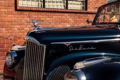 Packard 110 cabrioletkupé 1941 Arkivfoto