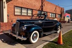 Packard 110 cabrioletkupé 1941 Arkivbilder
