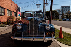 Packard 110 cabrioletkupé 1941 Arkivbild