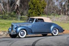 Packard 110 cabrioletkupé 1940 Fotografering för Bildbyråer