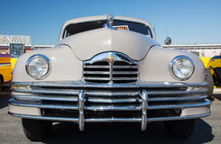 1948 Packard. CONCORD, NC — September 24, 2016:  A 1948 Packard automobile on display at the Pennzoil AutoFair classic car show held at Charlotte Motor Royalty Free Stock Images