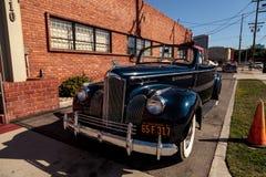1941 Packard 110 Convertibele Coupé Royalty-vrije Stock Afbeelding