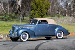 1940 Packard 110 Convertibele Coupé Stock Afbeelding