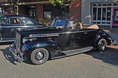 1940 Packard 120 Convertibele Open tweepersoonsauto Stock Foto