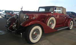1933 Packard 1107 convertible coupe Stock Photography