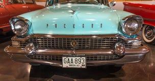 1957 Packard. On display at the American Car Museum, Tacoma, Washington. 9 May, 2015 Royalty Free Stock Image