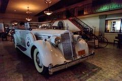 1936 Packard-het reizen auto Royalty-vrije Stock Foto's