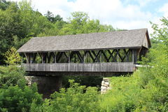 Packard Hill Covered Bridge. In Lebanon, NH Royalty Free Stock Image