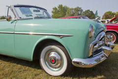 1951 Packard kabrioletu przód - panel Obrazy Stock