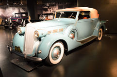 Packard mod. Super-Eight 1501 at Museo Nazionale dell'Automobile Royalty Free Stock Image