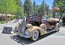 Packard Phaeton Stock Photography