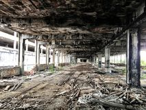 Packard Plant. Exploring the Packard plant Stock Image