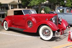 1934 Packard-Sedan Stock Afbeelding
