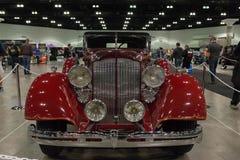 Packard Super 8 Convertibele Victoria Stock Afbeeldingen