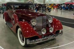 Packard Super 8 Convertibele Victoria Royalty-vrije Stock Afbeelding