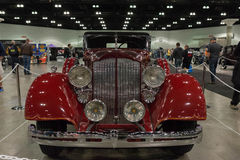 Packard toppen 8 cabriolet Victoria Arkivbilder