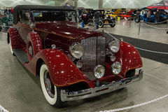 Packard toppen 8 cabriolet Victoria Royaltyfri Bild