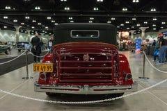Packard toppen 8 cabriolet Victoria Fotografering för Bildbyråer