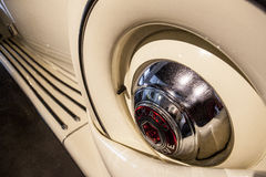 Packard V12 Presidential Car, 1939. Malaga, Spain - December 4, 2016:  Packard V12 Presidential Car, 1939. Displayed at Museo Automovilistico in Malaga Stock Photo