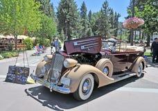 Packardfaëton Stock Fotografie