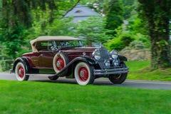Packardopen tweepersoonsauto (1930) Stock Fotografie