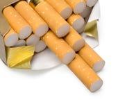 Packe av cigaretter Royaltyfri Bild
