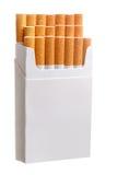 Packe av cigaretter Arkivfoton