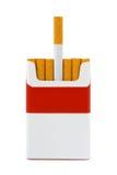Packe av cigaretter Royaltyfri Fotografi