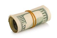 Packe av dollar Royaltyfri Bild