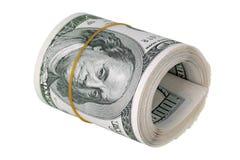 Packe av pengar Arkivfoton
