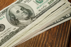 Packe av pengar royaltyfria bilder