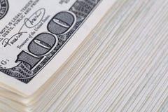 Packe av pengar Arkivfoto