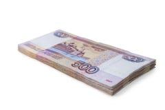 Packe av pengar Fotografering för Bildbyråer