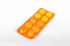 Packe av pills Royaltyfria Bilder