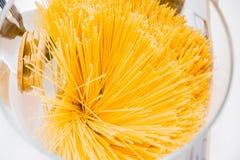Packe av spagetti Fotografering för Bildbyråer