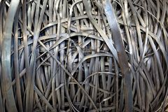 Packe för metallremsa Arkivbilder