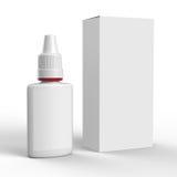 Packe för nasal sprej Arkivbilder