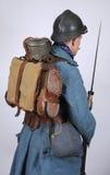 Packe och utrustning för storkrigfranskatekniker Royaltyfria Bilder