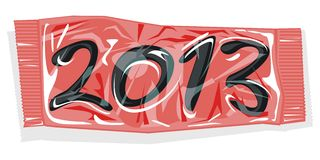 Packed 2013 Stock Photo
