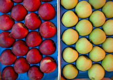 Packed  apples. Pic of packed red apples Royalty Free Stock Photo