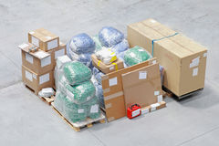 Packed boxes Royalty Free Stock Images