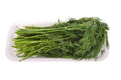 Packed dill Stock Photography