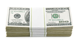 Packed dollars money Stock Photography