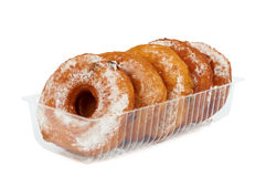 Packed donuts Royalty Free Stock Image